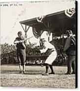 Baseball Game, 1909 Canvas Print by Granger