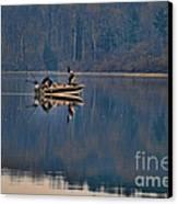 Bass Fishing Canvas Print by Paul Ward