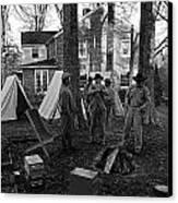 Battle Done Canvas Print