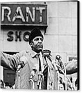Bayard Rustin 1912-1987, Speaking Canvas Print by Everett