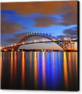 Bayonne Bridge Canvas Print by Paul Ward