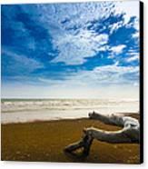 Beach Canvas Print by Nawarat Namphon