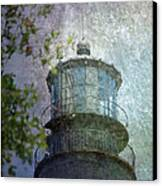 Beacon Of Hope Canvas Print by Judy Hall-Folde