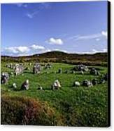 Beaghmore Stone Circles, Co. Tyrone Canvas Print by The Irish Image Collection
