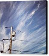 Beautiful Sky This Morning Canvas Print