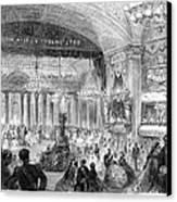 Beaux Arts Ball, 1861 Canvas Print by Granger