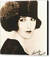 Bebe Daniels 1925 Canvas Print
