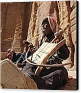 Bedouin Musician Canvas Print by Dave Eitzen