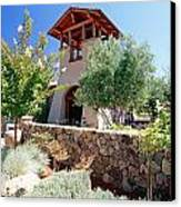 Bell Tower Of St Francis Winery Canvas Print by George Oze