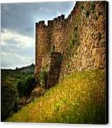 Belver Castle Canvas Print by Carlos Caetano