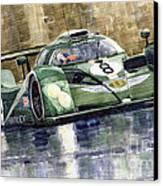 Bentley Prototype Exp Speed 8 Le Mans Racer Car 2001 Canvas Print by Yuriy  Shevchuk
