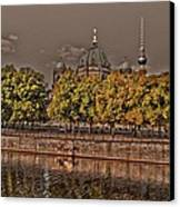 Berlin Cathedral ... Canvas Print by Juergen Weiss