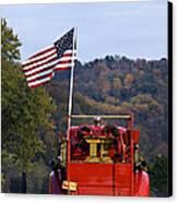 Bethlehem Fire Truck - D008199 Canvas Print by Daniel Dempster