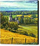 Beusdael Castle Sippenaeken Canvas Print