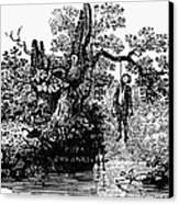 Bewick: Hanged Man Canvas Print