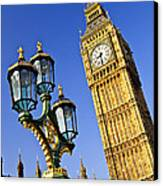 Big Ben And Palace Of Westminster Canvas Print by Elena Elisseeva