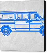 Big Van Canvas Print by Naxart Studio