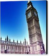 #bigben #uk #england #london2012 Canvas Print by Abdelrahman Alawwad