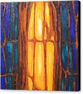 Biological Orange Prisoner Canvas Print by Kazuya Akimoto