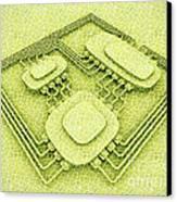 Biotech Canvas Print