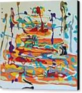 Birthday Canvas Print by Helene Henderson