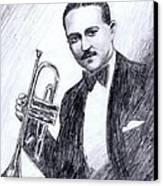 Bix Beiderbecke 1929 Canvas Print by Mel Thompson