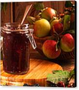 Blackberry And Apple Jam Canvas Print by Amanda Elwell