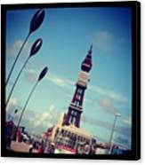 Blackpool Tower Canvas Print by Chris Jones