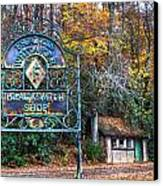 Blacksmith Shop Canvas Print by Debra and Dave Vanderlaan
