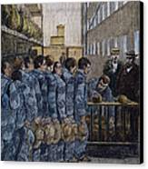 Blackwells Island, 1876 Canvas Print by Granger