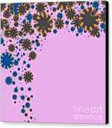 Blades On Purple Canvas Print by Atiketta Sangasaeng