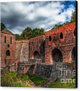 Blast Furnaces Canvas Print
