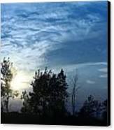 Blue Canvas Sky 03 Canvas Print by Aimelle