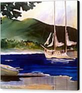 Blue Interlude Canvas Print by Don F  Bradford