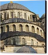 Blue Mosque Domes Canvas Print