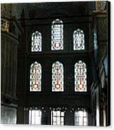 Blue Mosque Prayers Canvas Print