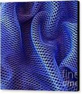 Blue Net Background Canvas Print