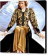 Bluebeards Eighth Wife, Claudette Canvas Print by Everett