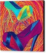 Blues Heels Canvas Print by Kenal Louis