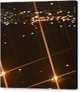 Blurred City Nights Canvas Print by Naomi Berhane