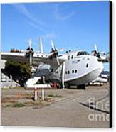 Boac British Overseas Airways Corporation Speedbird Flying Boat . 7d11249 Canvas Print by Wingsdomain Art and Photography