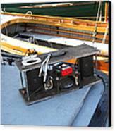 Boat Builders Music Box Canvas Print