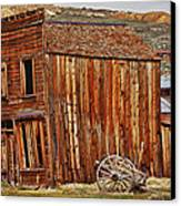 Bodie Ghost Town Canvas Print by Garry Gay