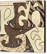 Bohemian Peace Canvas Print by Debbie DeWitt