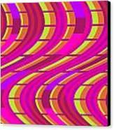 Bold Swirl  Canvas Print by Louisa Knight