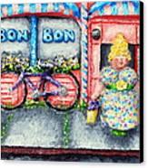 Bon Bon Betty Canvas Print