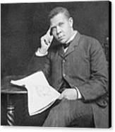 Booker T. Washington 1856-1915, African Canvas Print