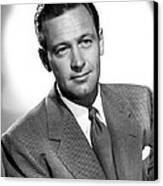 Born Yesterday, William Holden, 1950 Canvas Print by Everett