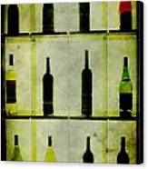 Bottles Canvas Print by Alexander Bakumenko