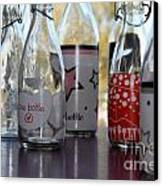 Bottles Canvas Print by Tanja Hymel